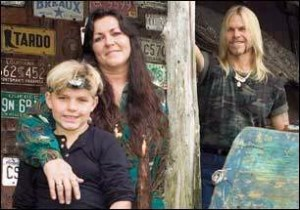The Loupe Family  Their picture from 10 years ago on Trading Spouses.