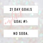 Goal #1 – No Soda